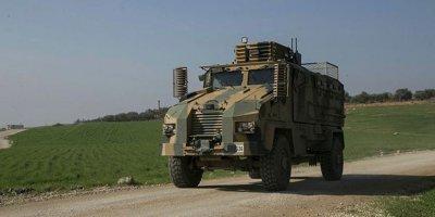 Suriye'de Türk askerlerini taşıyan kirpi devrildi: 9 asker yaralı