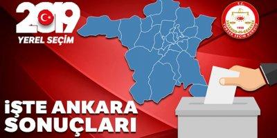 Ankara Yerel Seçim Sonuçları