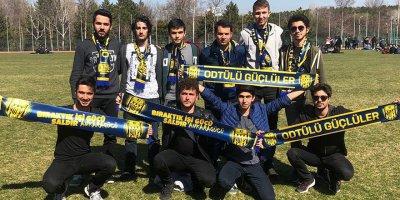 Orta Doğu Teknik Üniversitesi'nde Ankaragücü sesleri yükselecek