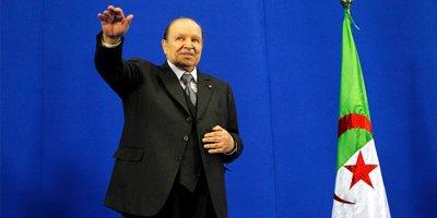 Cezayir Cumhurbaşkanı istifa etti