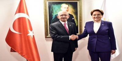 Kemal Kılıçdaroğlu, Akşener'i ziyaret etti