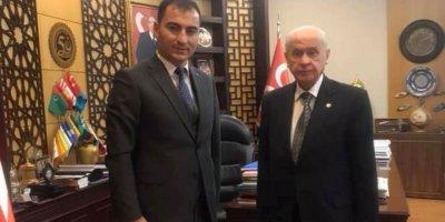 Mazbatayı aldı MHP liderini ziyaret etti