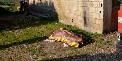 Adıyaman'da eşi yaşlı adamı keser ile öldürdü