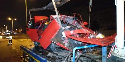 Ankara'daki kazada 3 kişi yaralandı