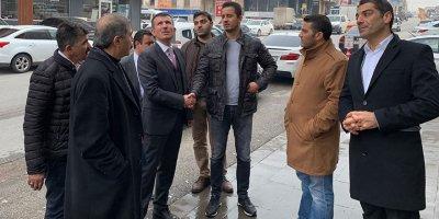 Cevdet Yılmaz'dan Başkan Altınok'a hayırlı olsun ziyareti