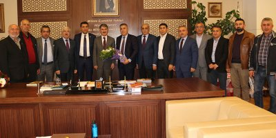 Kırşehirlilerden Başkan Ayhan Yılmaz'a ziyaret