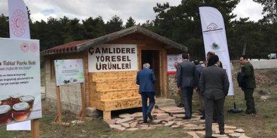 Çamlıdere'nin yöresel ürünlerine tam destek