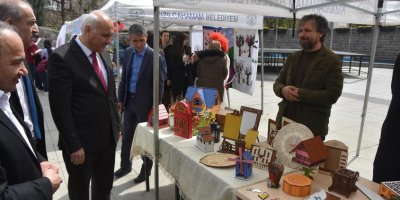 Başkan Süleyman Acar'dan fuar ziyareti