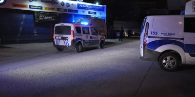 Benzin istasyonunda tüfekli saldırı
