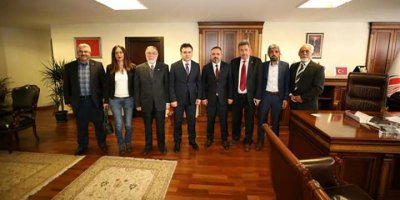 AASKF'den Murat Ercan'a ziyaret