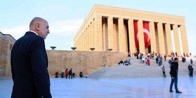 Başkan Altınok, Anıtkabir'i ziyaret etti