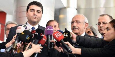 Kılıçdaroğlu, Gültekin Uysal ile görüştü