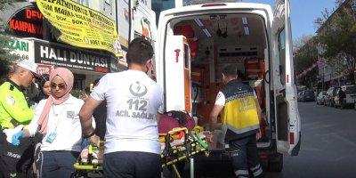 Kardeşlere otomobil çarptı: 2 yaralı