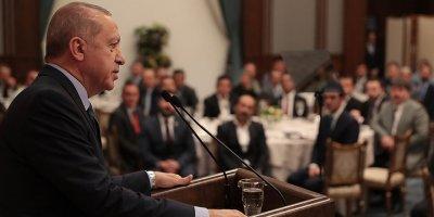 Cumhurbaşkanı Erdoğan, işçilerle bir araya geldi