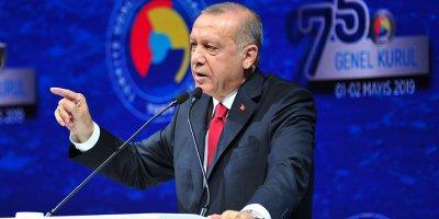 Erdoğan'dan medya organlarına uyarı
