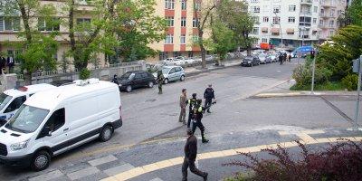 Başkent'te şüpheli valiz alarmı