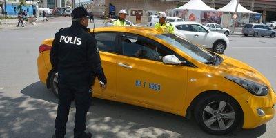 Ankaralı taksicilere denetim