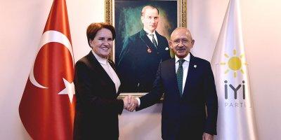 Kılıçdaroğlu, Akşener'i ziyaret etti