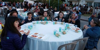 Beştepeliler iftar sofrasında buluştu