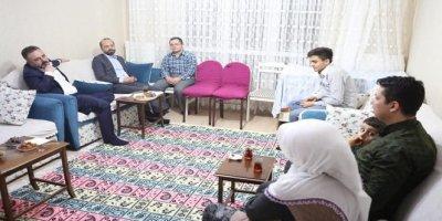 Murat Ercan vatandaşın iftar sofrasına konuk oldu