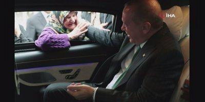 Erdoğan vatandaş ile sohbet etti
