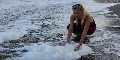Mersin'de inanılmaz doğa olayı