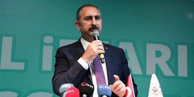 Adalet Bakanı Gül reform vurgusu yaptı