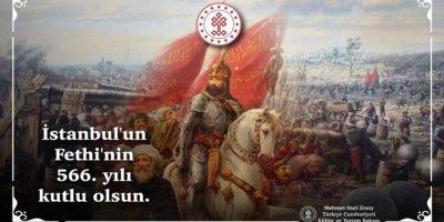 Kültür ve Turizm Bakanı Ersoy: Dünya tarihine yön veren en görkemli zafer