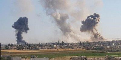 Suriye savaş uçakları İdlib'i bombaladı: 11 ölü