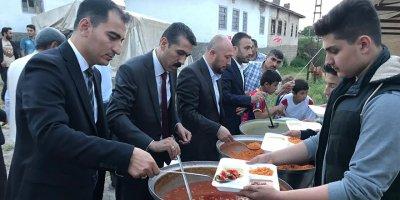 Polat'tan hemşerilerine iftar