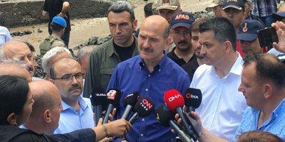 Soylu, Trabzon'daki son durumu paylaştı
