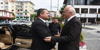 Azerbaycan Büyükelçisi, Kızılcahamam'ı ziyaret etti