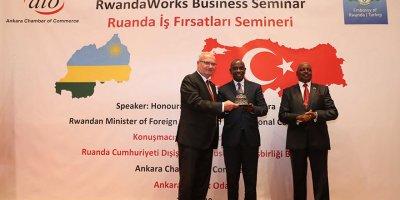 Baran: Ruanda ile ticaret hacmi, 21 milyon doların üzerinde