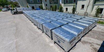 Altındağ'da her mahalleye çöp konteyneri