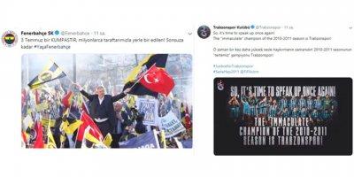 Fenerbahçe ve Trabzonspor'dan 3 Temmuz paylaşımı