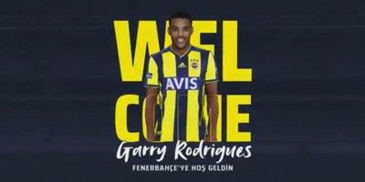 Garry Rodrigues resmen Fenerbahçe'de