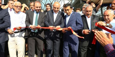 Başkan Altınok, yeni kapalı pazar alanını hizmete açtı