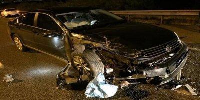 Sincan Belediyesi'nin AKP'li Meclis üyesi trafik kazası geçirdi