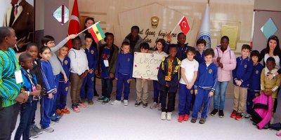 Ganalı öğrenciler Ankara'da