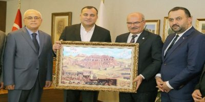 ATO Başkanı Baran'dan Alper Taşdelen'e ziyaret