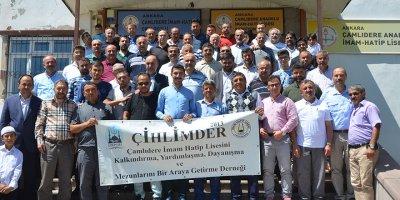 Çamlıdere'ye imam hatipliler çıkarma yaptı