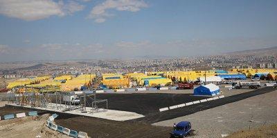 Etimesgut'ta kurban hazırlıkları tamamlandı