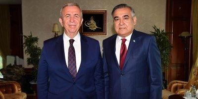 Başkan Yavaş'a büyükelçilerden yoğun ilgi