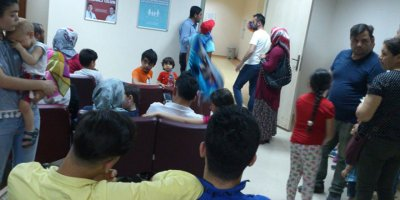 Dışkapı Hastanesi'nde tedavi olmak isteyen vatandaşlar zor günler geçiriyor