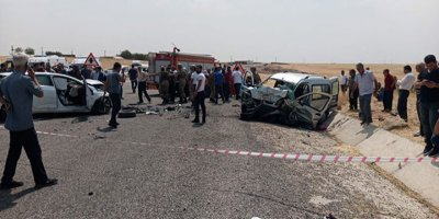Diyarbakır'daki feci kazada 4 kişi hayatını kaybetti