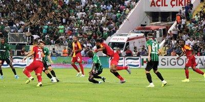 Galatasaray'a Denizli'de şok