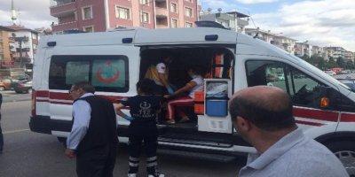 Sincan'da trafik kazası: 2 yaralı