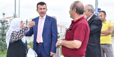 Altındağ'da 'mahalle buluşmaları' sürüyor