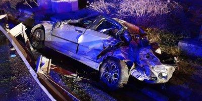 Tekirdağ'da korkunç kaza: 1 ölü