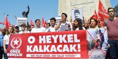 Ermenistan'daki skandal Talat Paşa heykeline tepki